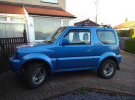 Suzuki Jimny, 2002 (02) Blue Estate, Manual Petrol, 90,000 miles