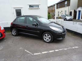 Peugeot 207, 2009 (09) Black Hatchback, Manual Petrol, 52,000 miles