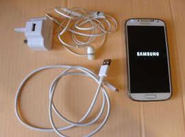 Samsung Galaxy S4 GT-I9505. 16 GB, White (unlocked) Smartphone