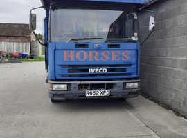 R reg Iveco  7.5 tonne horsebox for sale