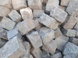Large random granite setts for sale ! And granite kerb stones