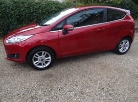 LOW MILES Ford Fiesta 1.25 ZETEC   2015 (65) 3DR
