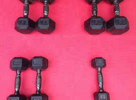 Hampton Hex Dumbbells