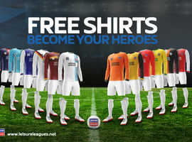 NEW COMMUNITY SIX A SIDE- FREE KITS, FREE ENTRY, £25 GAMES