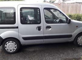 Renault Kangoo, 2002 (02) Grey MPV, Automatic Petrol, 76,000 miles