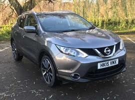 £99deposit&£204pcm Nissan Qashqai, 2015 (15) Grey Hatchback, Manual Petrol, 21,109 miles