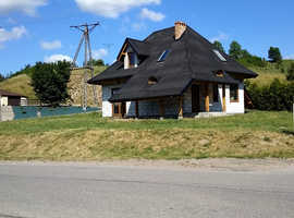 Beautiful house in Poland. An area of 120 m2 including a garage on a land of around 720 m2.