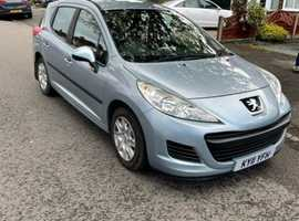 Peugeot 207, 2011 (11) Blue Estate, Manual Diesel, 75,400 miles