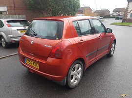 Suzuki Swift, 2007 (57) Orange Hatchback, Manual Petrol, 77,520 miles
