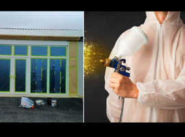 Airless Spray Paint Contractors London