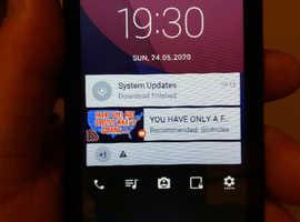 Alcatel pixie 4 android smartphone