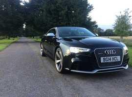 Audi Rs5, 2014 (14) black coupe, Automatic Petrol, 67986 miles