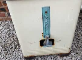Vintage washing machine or boiler