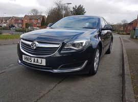 Vauxhall Insignia 2.0 cdti, 2015 (15) Black Hatchback, Automatic Diesel, 94,000 miles