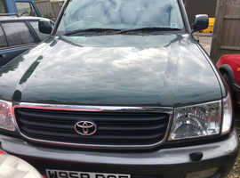 Toyota LAND CRUISER AMAZON, 2000 (W) Green Estate, Automatic Petrol, 166,271 miles