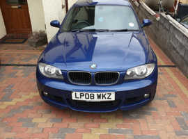 BMW 1 series,  123d , 200+BHP , Blue Coupe, Manual Diesel,