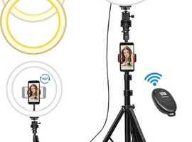 Selfie Ringlight Ring light for mobile phone, camera, Go Pro