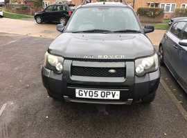 Land Rover Freelander, 2005 (05) Green Estate, Automatic Diesel, 129,000 miles