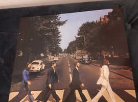 Beatles Abbey road green record