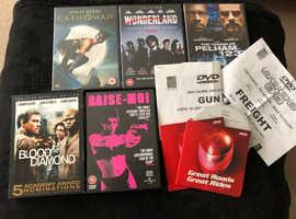 Job Lot DVD movies.