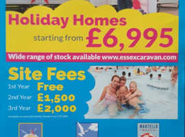 Holiday Homes in essex from £6995