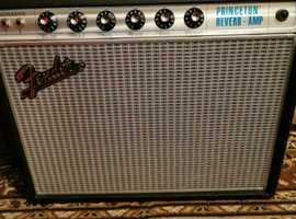 Fender princeton 68 reissue guitar amplifier
