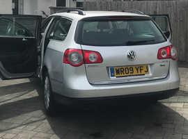 Volkswagen Passat, 2009 (09) Silver Estate, Manual Diesel, 230,000 miles