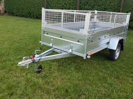 BRAND NEW 2020 MODEL 8.7 x 4.2 tipping single axle with 40cm mesh