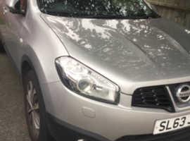 Nissan Qashqai, 2013 (63) Silver Hatchback, Manual Petrol, 69,277 miles