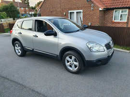 Nissan Qashqai, 2007 (57) Silver Hatchback, Manual Petrol, 94,000 miles, 2 owners, service history