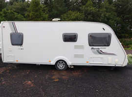 Swift Island Harris 4 Berth Caravan 2011 with motor mover.