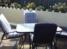 As new patio set
