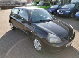 Renault Clio, 2007 (07) Black Hatchback, Manual Petrol, 89,123 miles