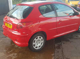 Peugeot 206, 2005 (05) Red Hatchback, Manual Petrol, 89,000 miles