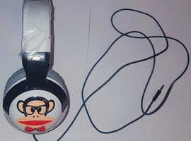 Skullcandy Hesh 2 Paul Frank Headphones with detachable cable