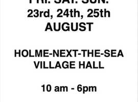 BOOK SALE Holme-next-the-Sea Village Hall  PE36 6LH