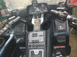 Honda Goldwing and sidecar for sale