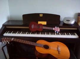 Piano, Guitar & Ukulele Ballycastle