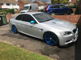 BMW 3 Series, 2007 (07) Silver Convertible, Automatic Petrol, 130,000 miles