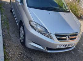 Honda FR-V, 2008 (58) Silver MPV, Manual Diesel, 84,000 miles