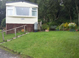 Static Caravan for sale near Barnard Castle and Middleton-in-Teesdale on a quiet, pretty site