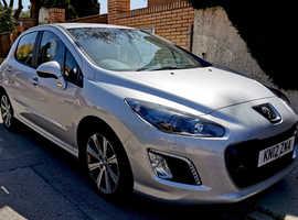 Peugeot 308, 2012 (12) Silver Hatchback, Manual Diesel, 84,084 miles