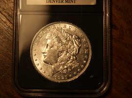 1921 Denver Mint Morgan Dollar rare.