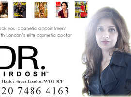 Dr. Nirdosh Celebrity Cosmetic Doctor in Harley Street, London