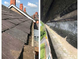 Window cleaner , gutter & facia & soffit cleaning