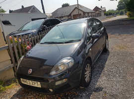 Fiat Punto, 2014 (63) Black Hatchback, Manual Petrol, 53,000 miles