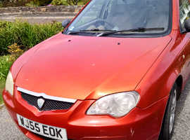 Proton GEN 2, 2005 (55) Orange Hatchback, Manual Petrol, 107,449 miles