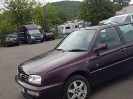 Volkswagen GOLF VR6 HIGHLINE, 1995 (N) Purple Hatchback, Manual Petrol, 30,689 miles