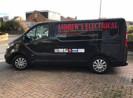 FOR HOUSE REWIRES AND ALL ELECTRICAL WORK CALL ANDREW,S ELECTRICAL, REGISTERED ELECTRICIAN