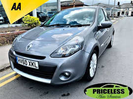 Renault Clio, 2010 (60) Grey Hatchback, Manual Diesel, 59,983 miles